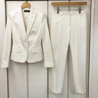 ドルチェアンドガッバーナ(DOLCE&GABBANA)の美品!DOLCE&GABBANA ストレッチ パンツスーツ(36)(スーツ)