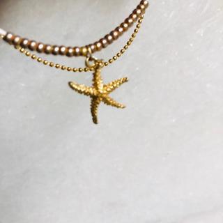 アーカー(AHKAH)のゴールド ブレスレット 星型 チェーン(ブレスレット/バングル)