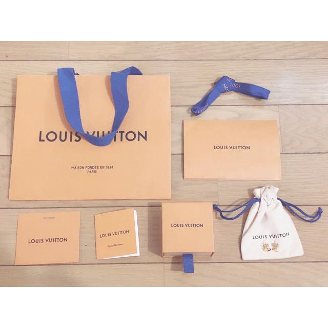 LOUIS VUITTON(ルイヴィトン)のLOUIS VUITTON ルイヴィトン スタッズ イヤリング・エセンシャル V メンズのアクセサリー(ピアス(両耳用))の商品写真