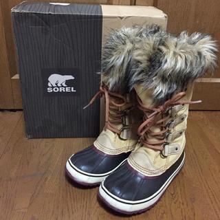 ソレル(SOREL)のえなちん様専用【値下げ】SOREL★JOAN OF ARCTIC(ブーツ)