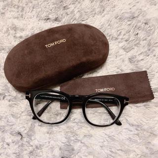 トムフォード(TOM FORD)のTOMFORD メガネ 正規品 定番人気型 度あり ブラック(サングラス/メガネ)