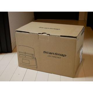 フジツウ(富士通)のScanSnap iX1500(ホワイト)(PC周辺機器)
