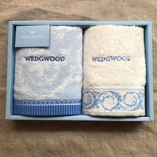 WEDGWOOD - ウェッジウッド ウォッシュタオル 2枚セット 新品