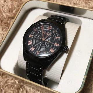 フォッシル(FOSSIL)のFOSSIL ブラック レディース 腕時計(腕時計)