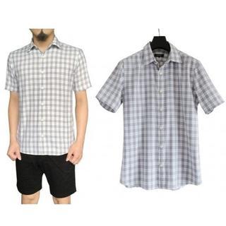 バーバリーブラックレーベル(BURBERRY BLACK LABEL)のバーバリー ブラックレーベル ノバチェック柄 半袖 シャツ 2(シャツ)