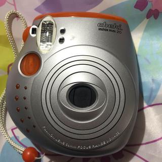 フジフイルム(富士フイルム)のすぐ使える‼️FUJIFILM INSTAX MINI 20 オレンジ(フィルムカメラ)