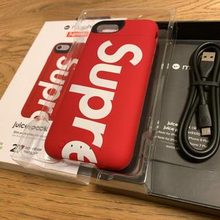 シュプリーム(Supreme)の新品★supreme iphone 7 8 juice pack air ケース(iPhoneケース)
