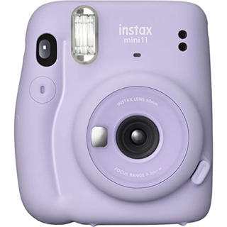 フジフイルム(富士フイルム)のフジフイルム チェキ instax mini 11 ライラックパープル 新品(フィルムカメラ)