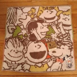 ピーナッツ(PEANUTS)の【新品】スヌーピー タオルハンカチ(ハンカチ)