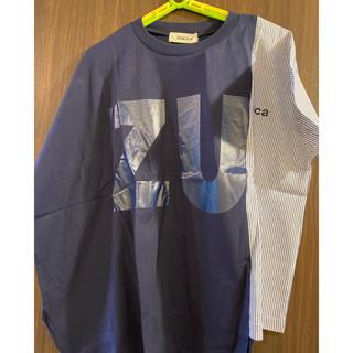 ズッカ(ZUCCa)のZUCCa / S コントラストロゴT / Tシャツ(Tシャツ(半袖/袖なし))