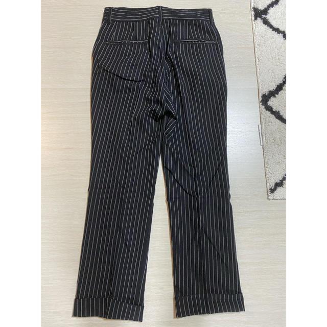 UNUSED(アンユーズド)の売り切り価格 NEONSIGN stripe slacks  ネオンサイン メンズのパンツ(スラックス)の商品写真