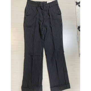 アンユーズド(UNUSED)の売り切り価格 NEONSIGN stripe slacks  ネオンサイン(スラックス)