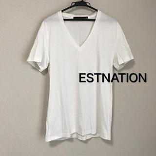 エストネーション(ESTNATION)のエストネーション VネックTシャツ(Tシャツ/カットソー(半袖/袖なし))