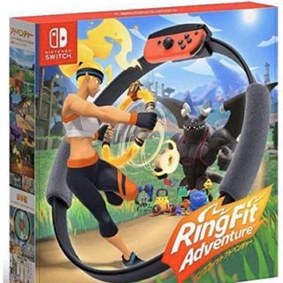 ニンテンドースイッチ(Nintendo Switch)のほぼ新品 リングフィットアドベンチャー(家庭用ゲームソフト)
