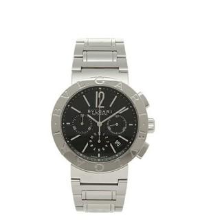 ブルガリ(BVLGARI)のブルガリ 時計 メンズ BVLGARI 腕時計 ウォッチ シルバー/ブラック(腕時計(アナログ))