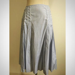 マカフィー(MACPHEE)のマカフィー MACPHEE ロングスカート マリンカラー Mサイズ(ロングスカート)
