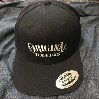 テンダーロイン(TENDERLOIN)のTENDERLOIN 本店 CAP OT キャップ ブラック YUPOONG(キャップ)