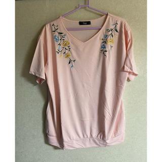 ニッセン(ニッセン)の💖新品未使用 ニッセン刺繍Tシャツ💖(Tシャツ(半袖/袖なし))