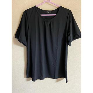 ニッセン(ニッセン)の💖新品未使用ニッセン 黒Tシャツ💖(Tシャツ(半袖/袖なし))