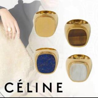 マルタンマルジェラ(Maison Martin Margiela)のうーたん様専用 シグネットリング 天然貝 24k (リング(指輪))