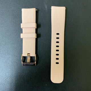 サムスン(SAMSUNG)の【20MM】【高品質】スマートウォッチ サムスン ガーミン LG Huawei(腕時計(デジタル))