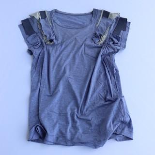 サカイラック(sacai luck)のANDREA様専用sacai luck ショルダー切替 カットソー (Tシャツ(半袖/袖なし))