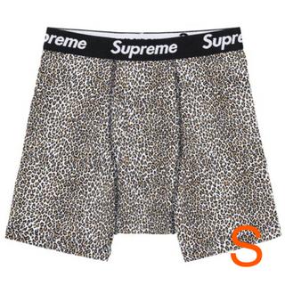 Supreme - ✨新品未開封✨SUPREME Hanes レオパード ボクサーパンツ 豹柄 S✨