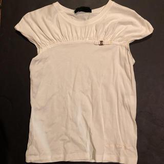 サルヴァトーレフェラガモ(Salvatore Ferragamo)の【未使用】フェラガモ  ♡白♡Tシャツ トップス(Tシャツ(半袖/袖なし))