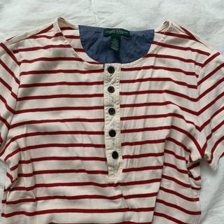 ラルフローレン(Ralph Lauren)のvintage Ralph lauren ボーダーT(Tシャツ(半袖/袖なし))
