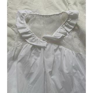 ロキエ(Lochie)のvintage usa レース ブラウス(シャツ/ブラウス(半袖/袖なし))