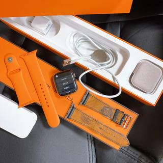 アップルウォッチ(Apple Watch)のアップル Watch Hermes 44mm MU772J/A すぐ発送可能(腕時計(デジタル))
