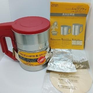 未使用 ナショナル 天ぷら油クリーナー レッツフライ♪(調理道具/製菓道具)