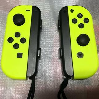 ニンテンドースイッチ(Nintendo Switch)の任天堂Switch Joy-Con L/R ネオンイエロー(その他)