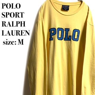 POLO RALPH LAUREN - POLO SPORT POLO LAUREN ラルフローレン ビッグロゴ ロンT