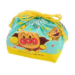 アンパンマン(アンパンマン)の新品 アンパンマン お弁当袋 ランチ巾着(ランチボックス巾着)