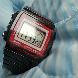 カシオ(CASIO)のちょい赤のチプカシ(腕時計(デジタル))