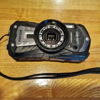 リコー(RICOH)の【はろはろ様専用】 RICOH WG-30W カーボングレー(コンパクトデジタルカメラ)