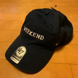 コモリ(COMOLI)のシラモ様専用 WEEKEND Baseball Cap NAVY 完売品(キャップ)