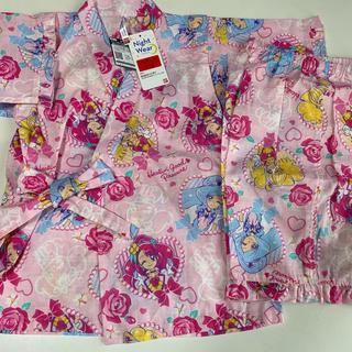 バンダイ(BANDAI)のヒーリングっど プリキュア光る甚平 ピンク110センチ(甚平/浴衣)