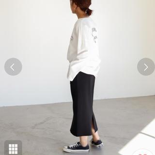 アンティローザ(Auntie Rosa)のアンティローザ コットン タイトロングスカート ZARA ザラ Sサイズ〜(ロングスカート)