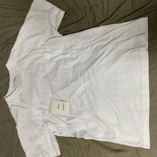 マルタンマルジェラ(Maison Martin Margiela)のAcne Studios バッグロゴTシャツ アクネ(Tシャツ/カットソー(半袖/袖なし))