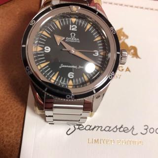 オメガ(OMEGA)のオメガ  シーマスター 300 トリロジー 23410392001001 美品(腕時計(アナログ))