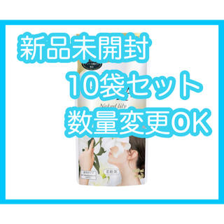 カオウ(花王)の【新品】フレア フレグランス IROKA ネイキッドリリーの香り 詰替 10袋(洗剤/柔軟剤)