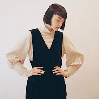 ヤエカ(YAECA)の新品未使用 foufou ハイネックドレスシャツ(シャツ/ブラウス(長袖/七分))