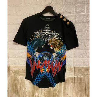 バルマン(BALMAIN)の美品 バルマン balmain Tシャツ(Tシャツ(半袖/袖なし))