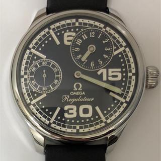 オメガ(OMEGA)のOMEGA オメガ レギュレーター 腕時計 手巻き スケルトン 美品 OH済み(腕時計(アナログ))