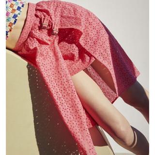 リリーブラウン(Lily Brown)のLilyBrown サイドスリットスカート(ひざ丈スカート)