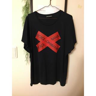 ドルチェアンドガッバーナ(DOLCE&GABBANA)のドルチェ  シャツ カットソー Tシャツ 美品 ジャケット デニム(Tシャツ/カットソー(半袖/袖なし))