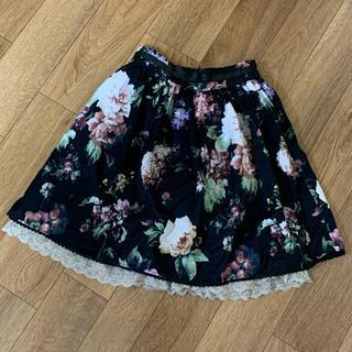 アクシーズファム(axes femme)のアクシーズファム  キッズ花柄スカート(スカート)