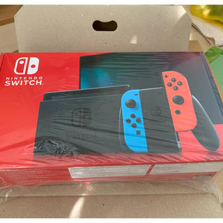 ニンテンドースイッチ(Nintendo Switch)の新品 Nintendo Switch 本体 ネオンブルーネオンレッド(家庭用ゲーム機本体)